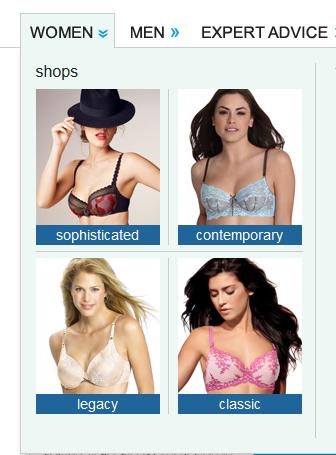 freshpair 依據內衣款式分類電子報名單